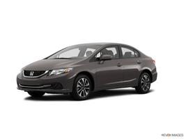 2015 Honda Civic Sedan 4dr CVT EX in Newton, New Jersey