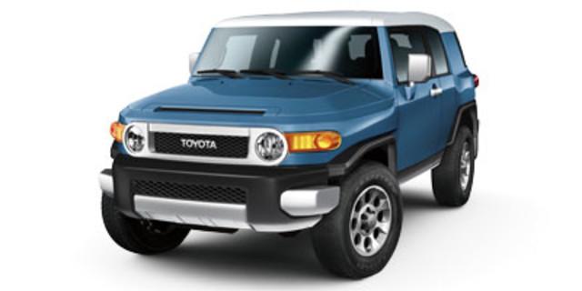 Toyota FJ Cruiser 4WD 4dr Auto North Canton, Ohio | Cain BMW Toyota ...