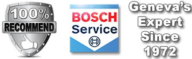 AAA Approved Service Center BOSCH Service Center Used Car Sales Geneva
