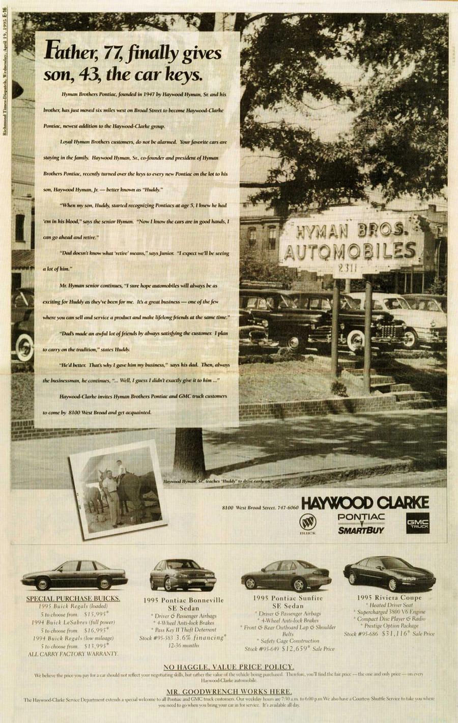 Hyman Bros Automobiles Pre Owned Dealer Richmond