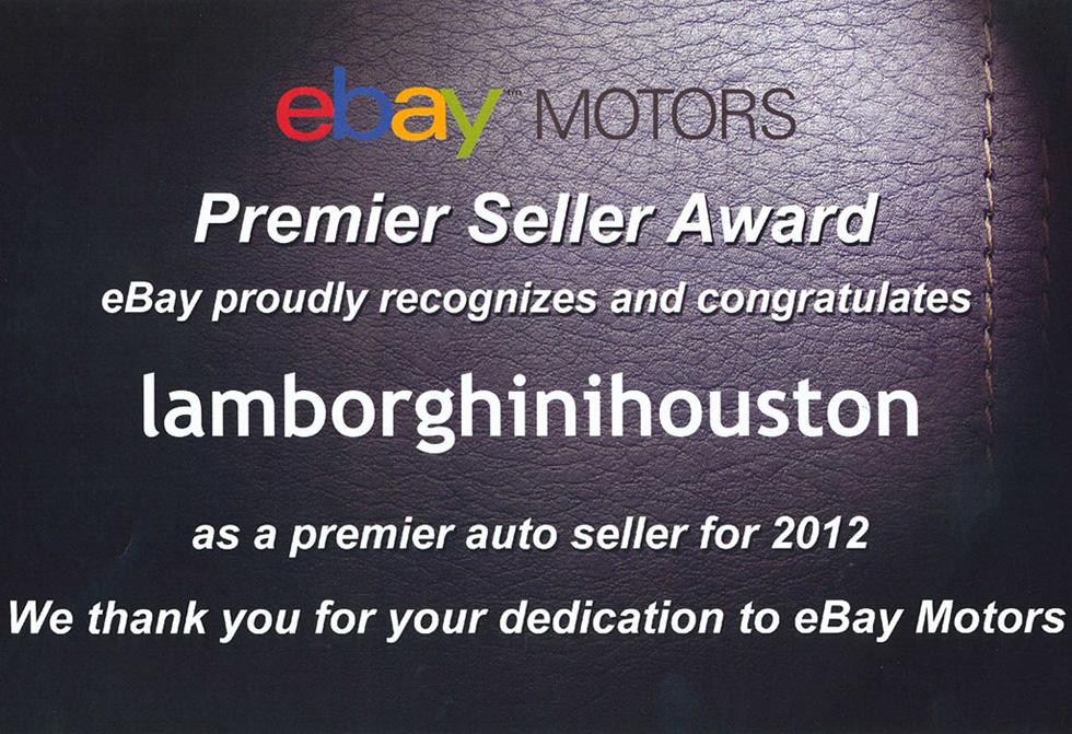Premier Seller Award