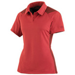 Ladies' Bamboo Charcoal Active Polo <li>Sport Red