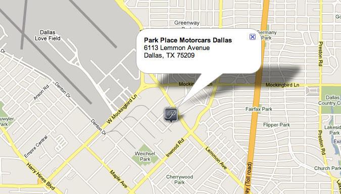 Mercedes benz dallas park place texas for Park place motorcars mercedes benz dallas dallas tx