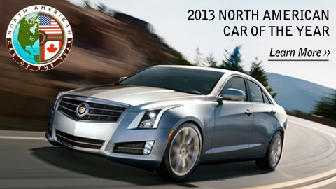 The all-new Cadillac ATS