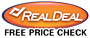 RealDeal.com Price Check Logo